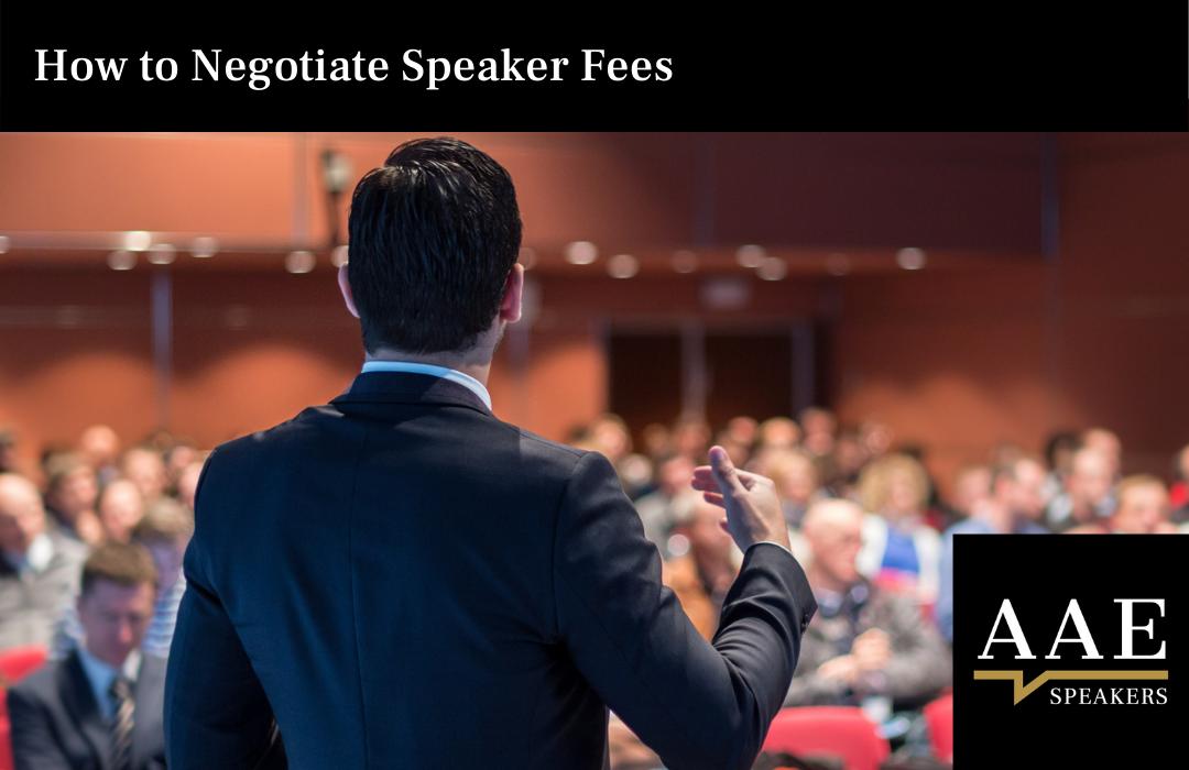 How to Negotiate Speaker Fees